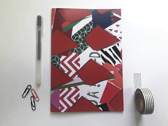 Notebook designed by Velvet Cooper